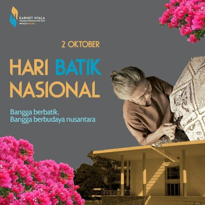 """Warta Budaya: Hari Batik""""Memperingati Pengakuan Dunia Terhadap Batik"""""""
