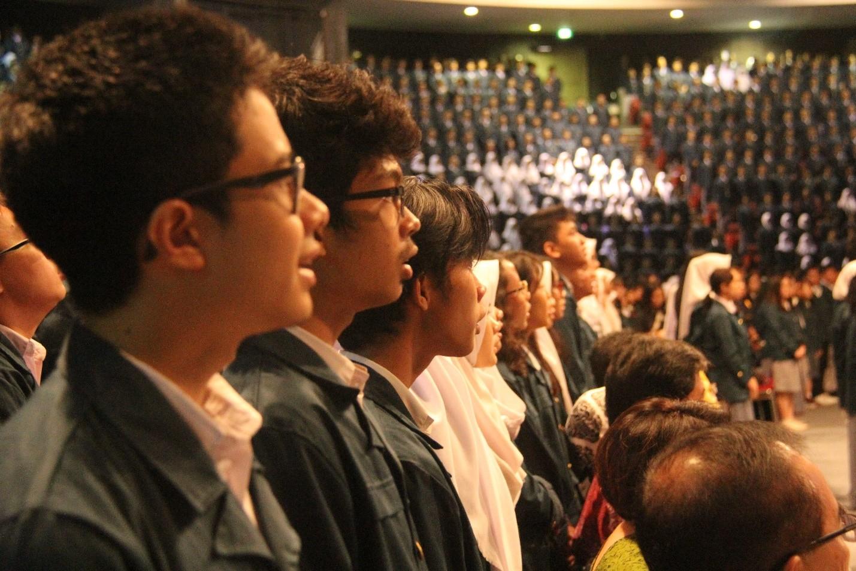 Resmikan Mahasiswa Baru Tahun Ajaran 2017/2018, ITB Gelar Sidang Terbuka