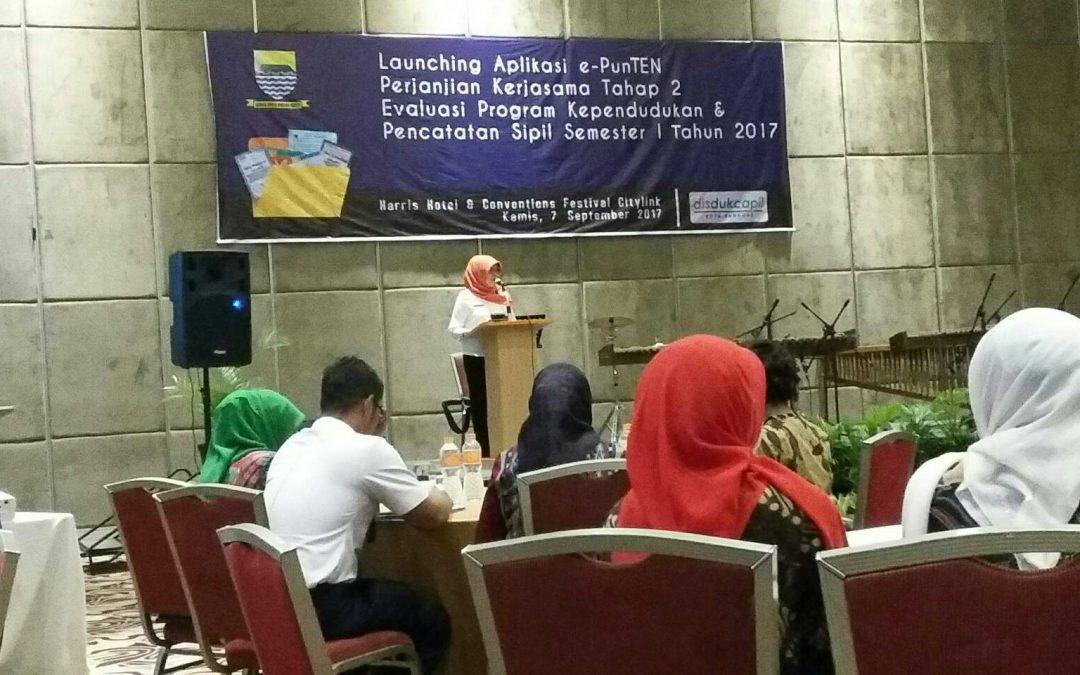 Kabinet KM ITB Hadiri Peluncuran Aplikasi e-PunTEN Kota Bandung