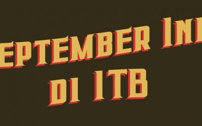 September ini di ITB