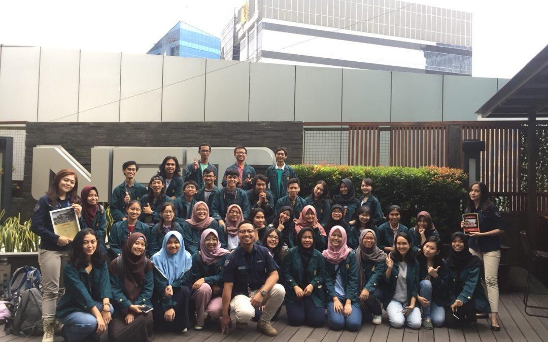 Kunjungan ke NET. Mediatama Jakarta