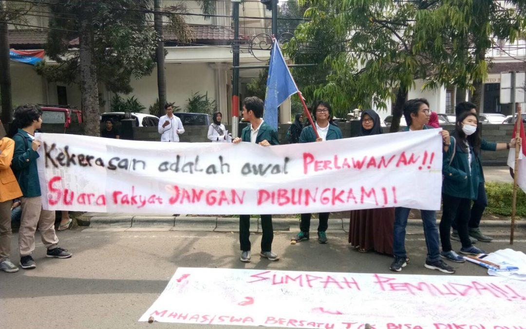 Aksi Represifitas Aparat CFD Bandung