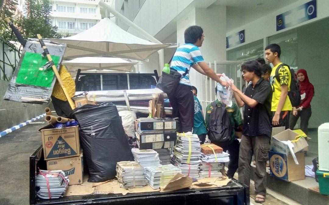 Kabar Sarana Prasarana : Proses Pindahan Unit CC Timur