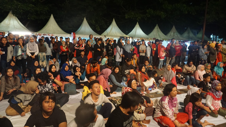 Kemeriahan Penonton Pesta Rakyat 2018