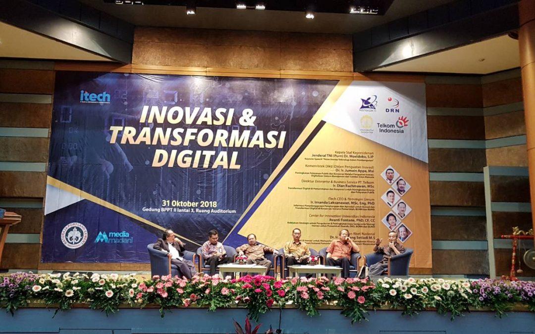 Inovasi dan Transformasi Digital sebagai Kunci Akselerasi Pembangunan Bangsa