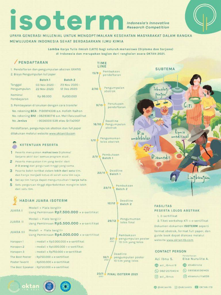 Isoterm: Upaya Generasi Millenial Untuk Mengoptimalkan Kesehatan Masyarakat Dalam Rangka Mewujudkan Indonesia Sehat Berdasarkan Ilmu Kimia