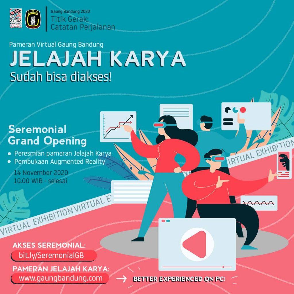 Pameran Virtual Gaung Bandung: Jelajah Karya