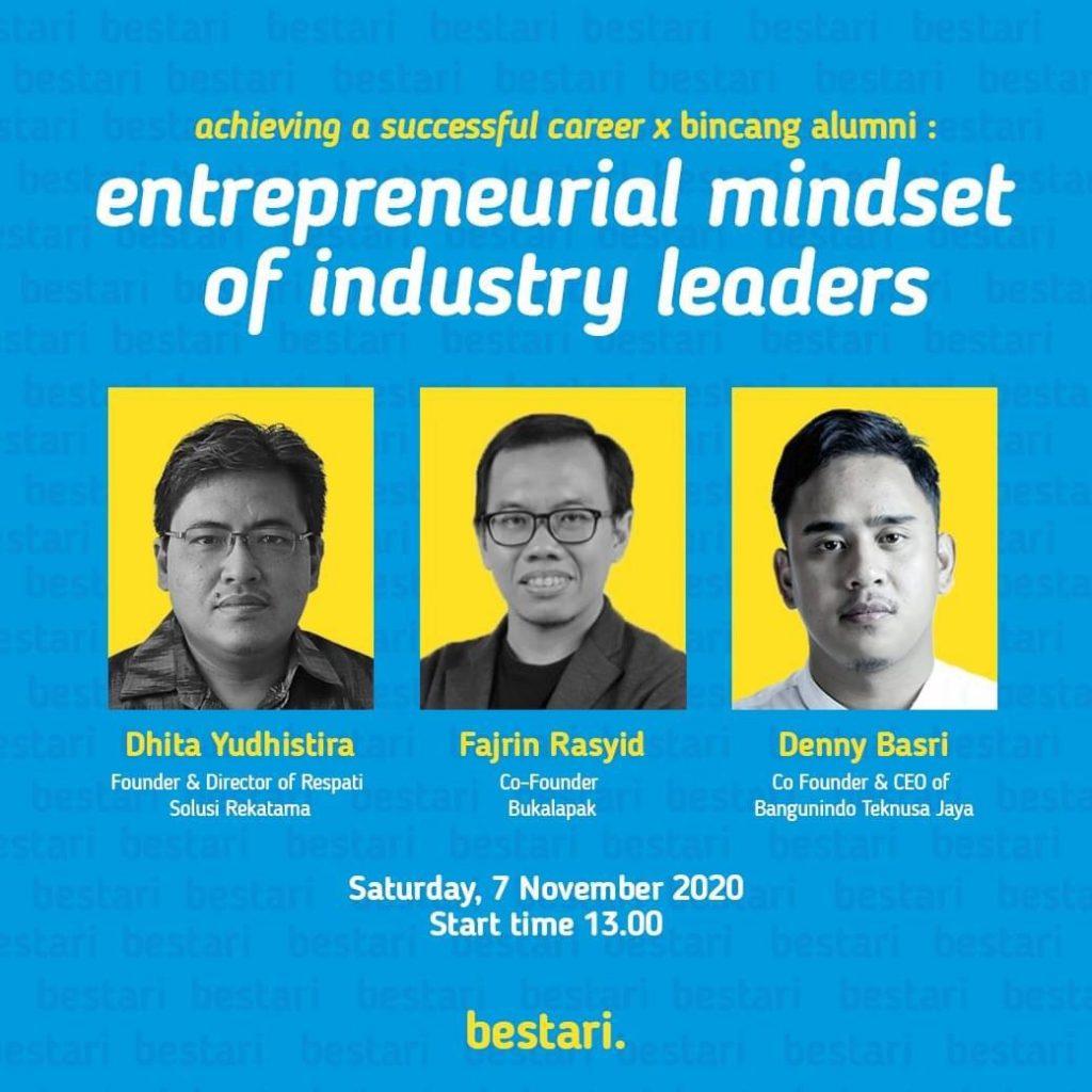 Entrepreneurial Mindset of Industry Leaders