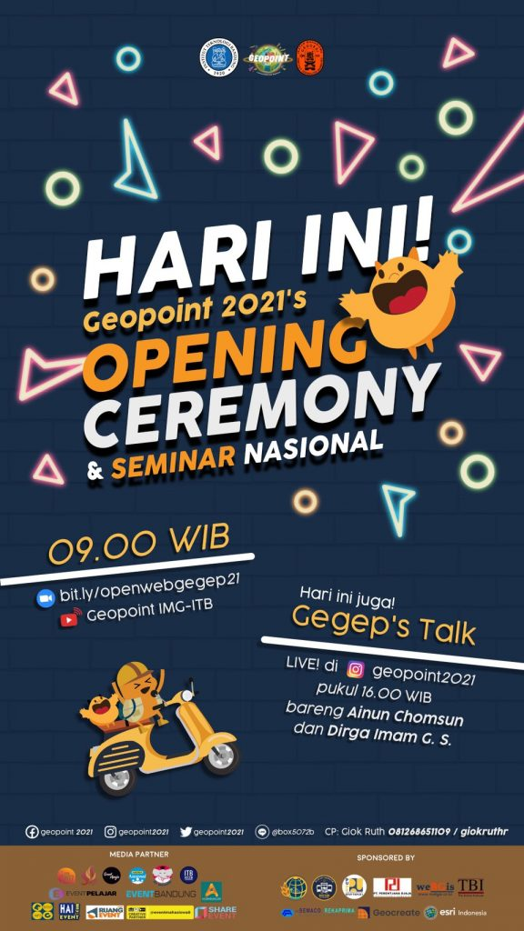 Geopoint 2021: Opening Ceremony & Seminar Nasional
