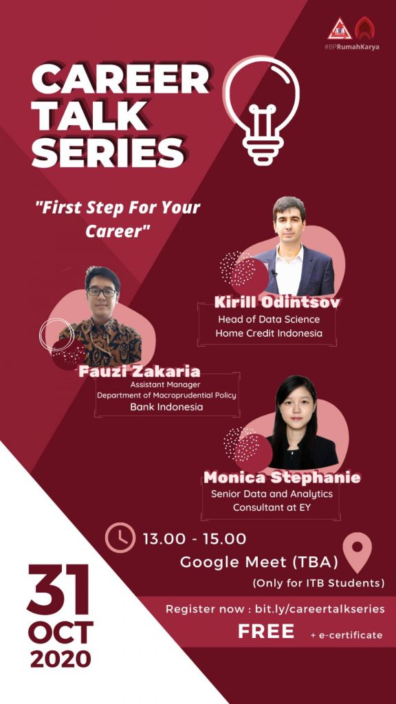 Career Talk Series: First Step For Your Career