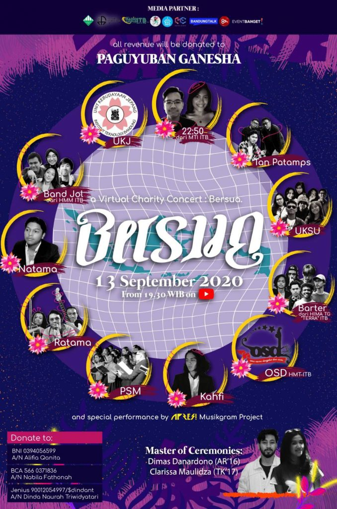 Virtual Charity Concert: Bersua