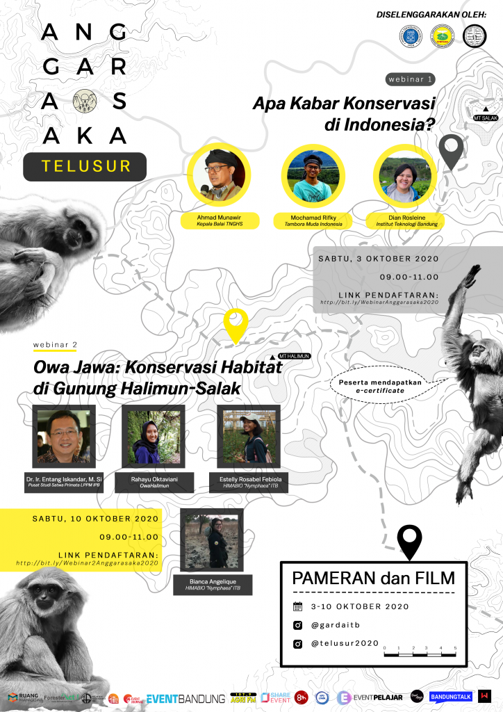 Apa Kabar Konservasi di Indonesia & Owa Jawa: Konservasi Habitat di Gunung Halimun-Salak